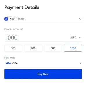buy xrp with credit card