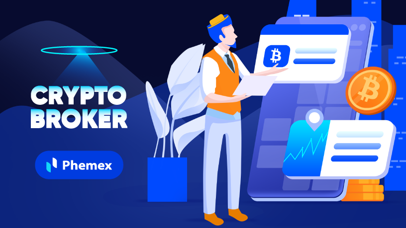 what is a crypto broker