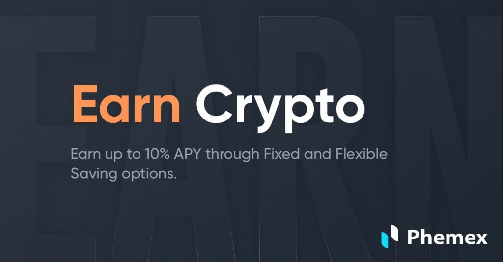 Earn Crypto up to 10% APY