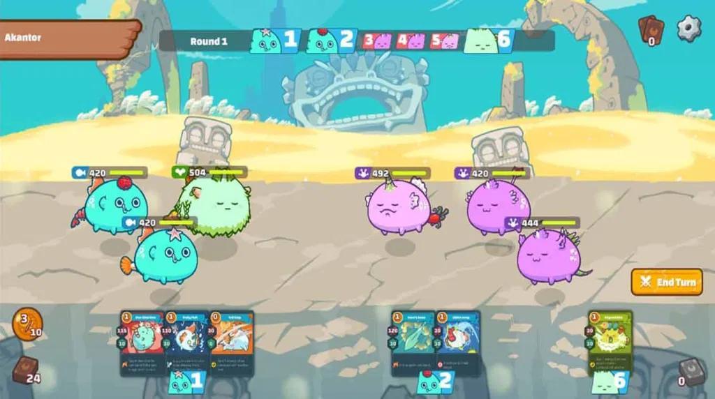 Axie Infinity gameplay