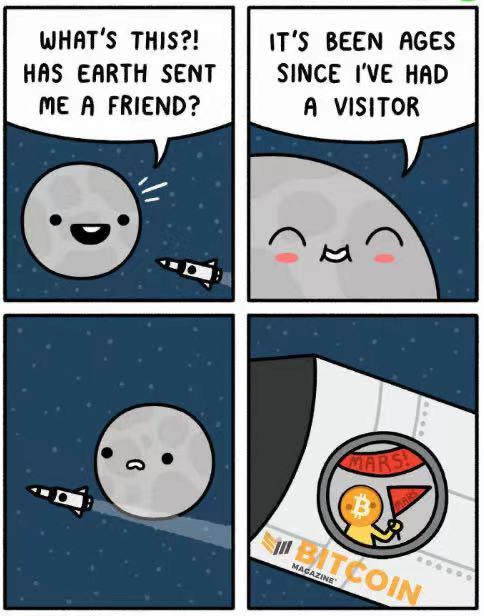 bitcoin to the moon