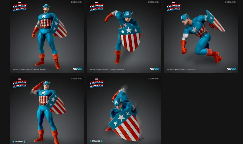 VeVe Captain America