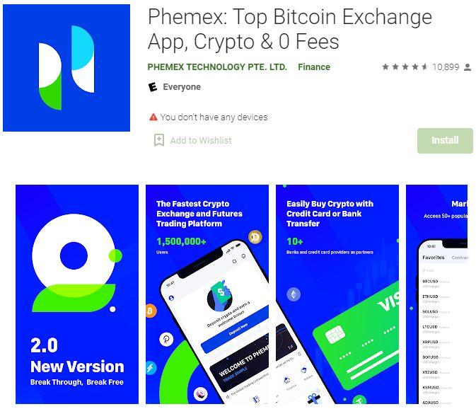 phemex app