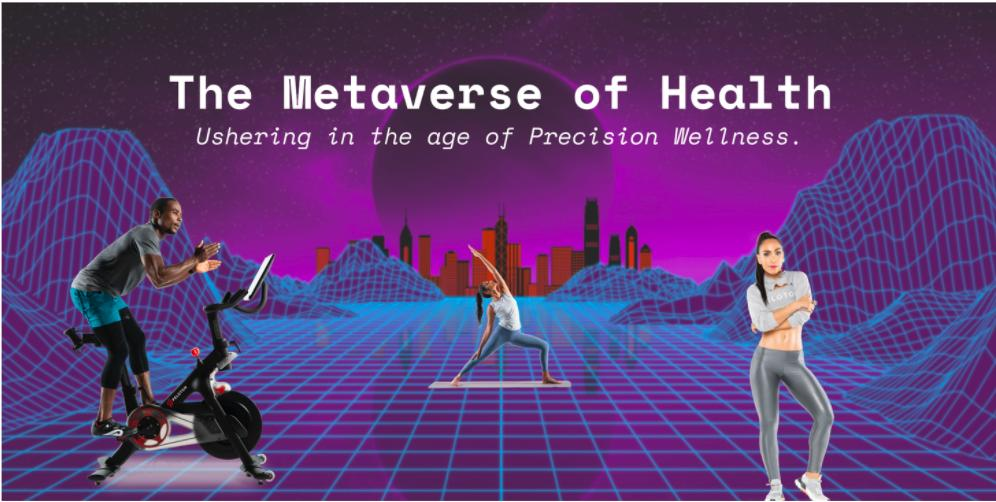 Metaverse users in digital wellness classes